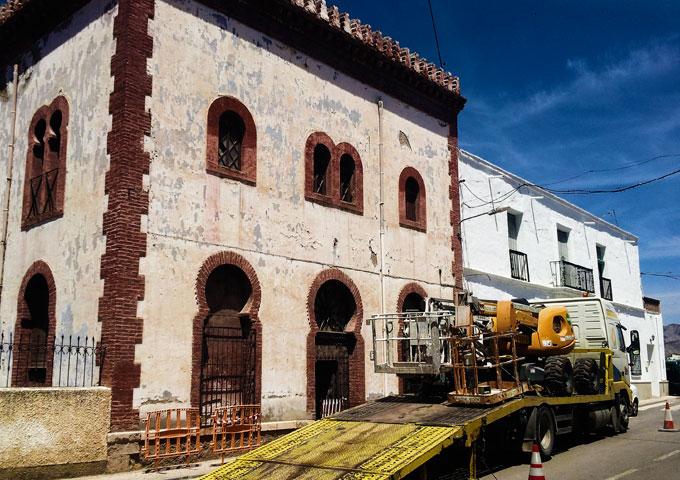 Rehabilitación de Edificios - Castillo en Alhabia (Almería)