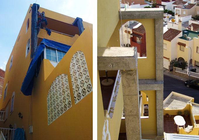 Reparaciones estructurales y rehabilitaciones en Almería