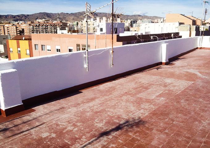 reparacion de terrado en Almeria