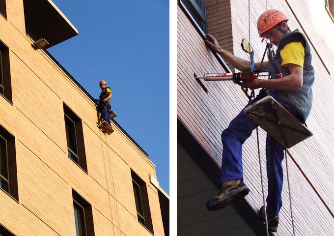 Empresa de revisiones técnicas de edificios y servicios de mantenimiento de fachadas en almeria